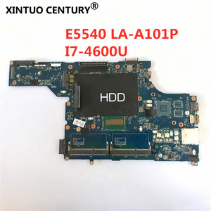For DELL Latitude E5540 I7-4600U Notebook Mainboard VAW50 LA-A101P SR1EA DDR3 Laptop Motherboard(China)