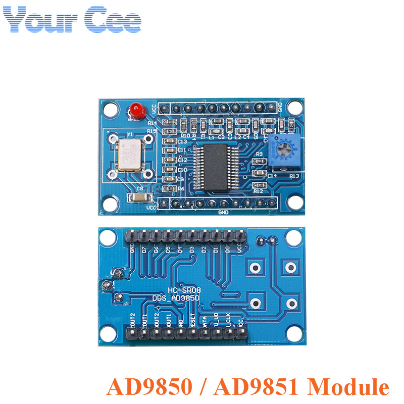 DDS Signal Generator Module Development Board 0-70MHz 0-40MHz AD9850 AD9851 2 Sine Wave And 2 Square Wave
