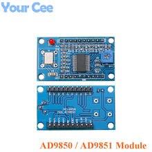 Módulo gerador de sinais dds, placa de desenvolvimento 0-70mhz 0-40mhz ad9850 ad9851 2 onda senoidal e 2 ondas quadradas