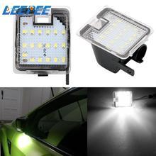 1 زوج سيارة الباب مرحبا ضوء LED تحت الجانب مرآة البركة ضوء لفورد التركيز 3 كوغا 2 S ماكس WA6 2 مونديو 4 5 جراند C ماكس 2