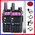 2PCS Baofeng UV-5R 8W Transceiver Radio Station Powerful Walkie Talkie VHF UHF BF UV5R 8 Watts Portable CB Ham Radio for Hunting