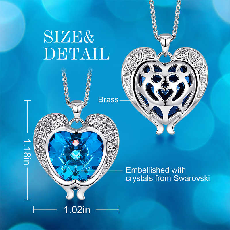 Cdyle Pantai Perhiasan Minimalis Fashion Bermuda Blue Crystal Dolphin Chokers Kalung untuk Wanita Pesta Aksesoris