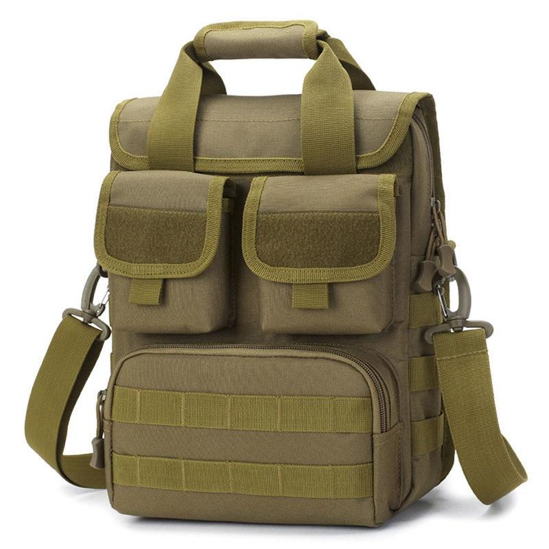 Men Military Tactical Bag Molle Messenger Shoulder Bags Waterproof Male Camouflage Single Belt Sack Handbags Outdoor XA746WA