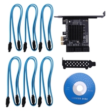 Pcie-Card Iii-Controller Internal-Adapter SATA Converter 6-Port Card-To-6gb/S