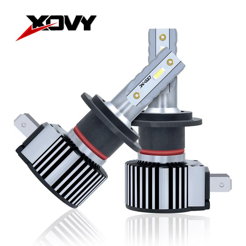 XOVY 70 Вт 8000LM Автомобильные фары H8 H9 H11 9004 HB1 880 881 H27 6000 К Авто Противотуманные фары светодиодный Hid фары преобразования Наборы