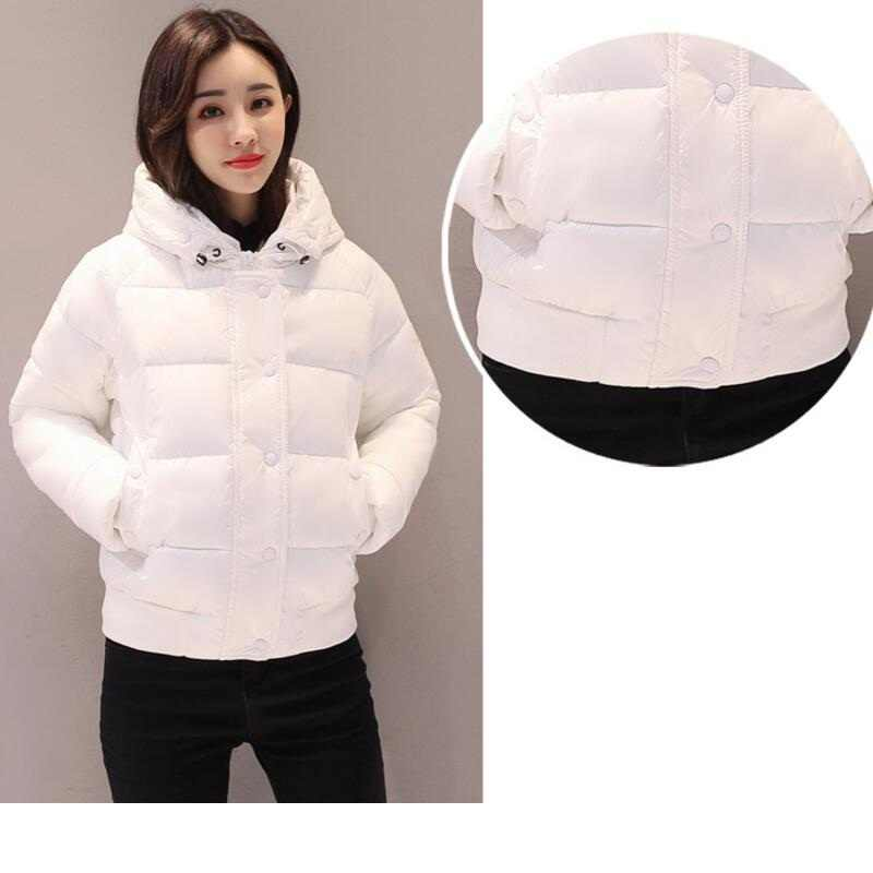 2019 Winter Jacket women Plus Size Womens Parkas Warm Thicken hooded Coats Short Female waterproof Outerwear Slim basic tops