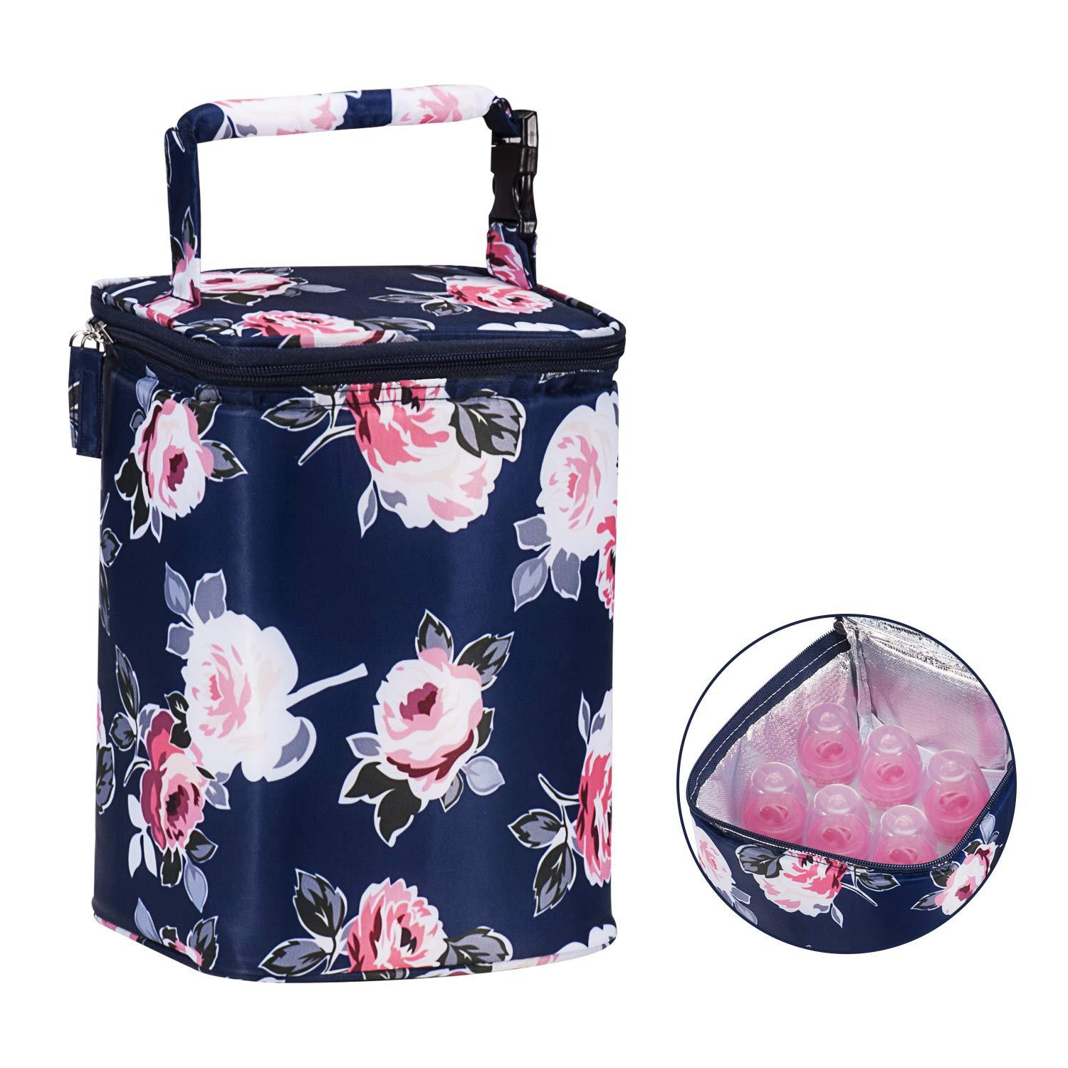 Hot Selling Baby Children Lunch Bag Baby Bag Lunch Bag Portable Insulated Bag Feeding Bottle Storage Bag