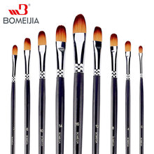 9pcs/set Paint Brush Set Oil Paint Brush Painting Brush For Watercolor,Oil,Acrylic Brush Pen pincel para pintura Art Supplies