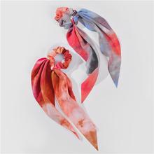 ZFYIN 55 Colors 2020 Spring Summer Women Lady Pony Tail Holder Fabric Hair Scarf Scarves Elastic Scrunchies Bandanas cheap Vier Jahreszeiten Acrylsauer Erwachsene CN (Herkunft) CASUAL Kopftuch Mode Mit Blumen Kopfschmuck