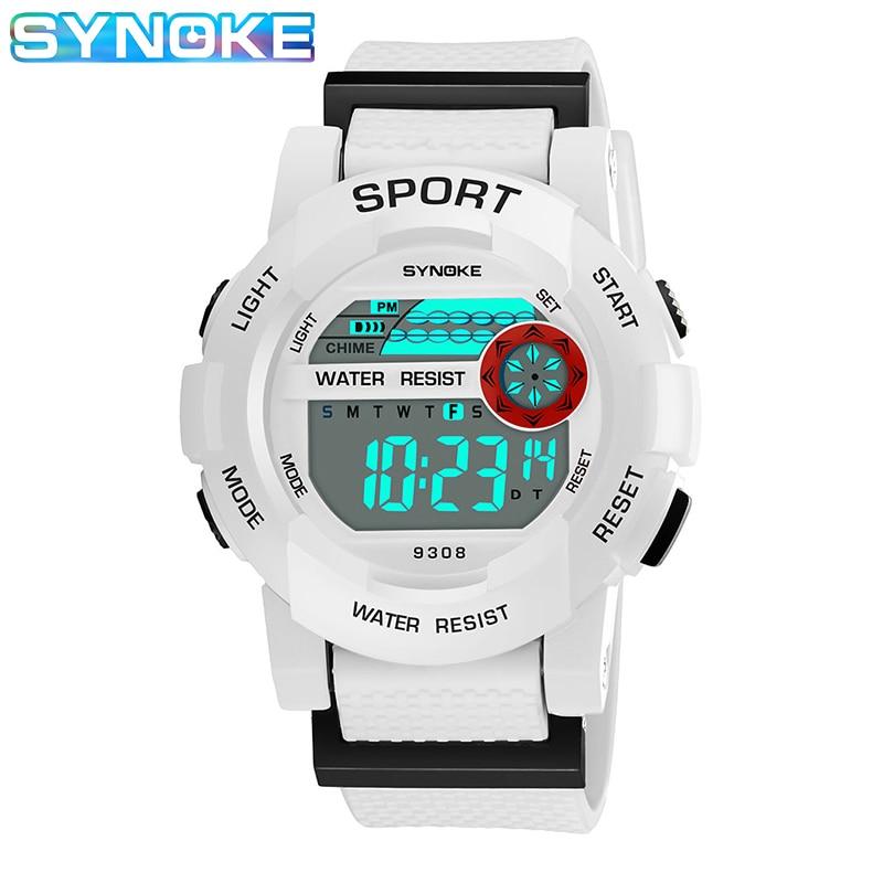SYNOKE Children Watch Digital Waterproof Sports Watches Students Wrist Watch Luminous Multifunction Relogio Infantil Montre