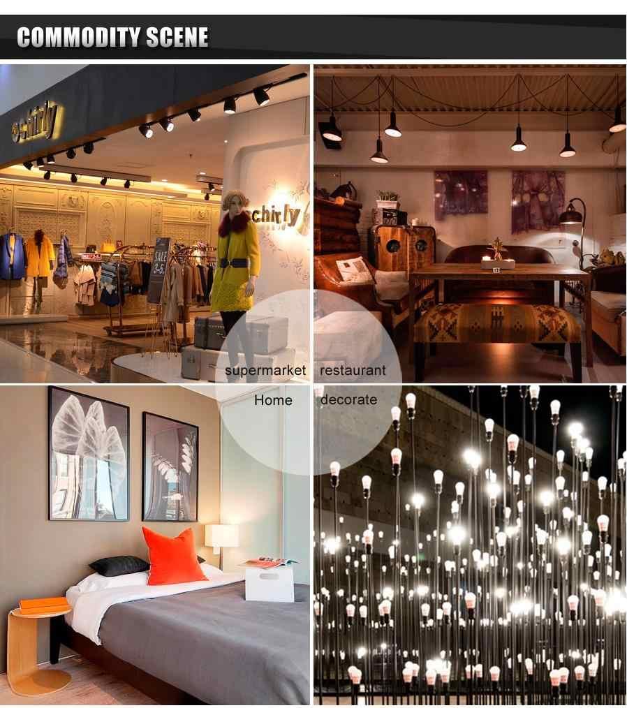 5 pièces/lot lampe à LED de puissance réelle E27 220V lumière LED 3W 5W 7W 9W 10W 12W 15W Luz ampoule lampadas de Bombillas LED ampoule projecteur