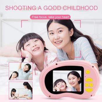 BEESCLOVER X8 aparat fotograficzny dla dzieci aparat cyfrowy Mini kamera wideo ruch aparat zabawka fotografia aparat fotograficzny r20 tanie i dobre opinie 2x-7x Brak Full hd (1920x1080) CMOS 1 cala 5 0-9 9MP Karta sd Standardowy ekran Peryskop obiektywu Microsd tf Elektroniczny