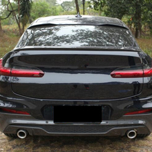Use For BMW X4 G02 Spoiler  2019 2020 Year Glossy Real Carbon Fiber Rear Wing M Style Sport Accessories Body Kit