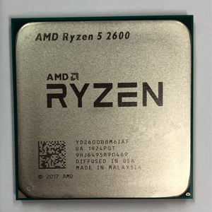 AMD Ryzen 5 2600 R5 2600 3.4GHz Six-core twelve-core 65W CPU YD2600BBM6IAF Socket AM4