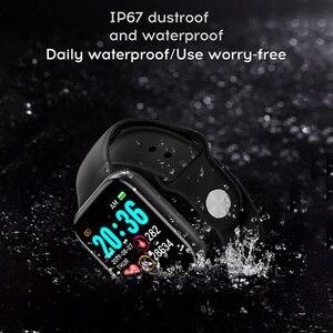 Image 2 - Per il Fitness Tracker Intelligente Orologio Y68 Impermeabile Bluetooth di Sport Uomini SmartWatch Per IPhone Xiaomi Monitor di Frequenza Cardiaca Donne Vita Intelligente