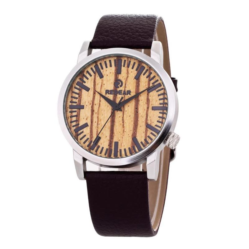 2020 New Arrival Han Edition Wood For Grain Leather Watch Fashion Students Paper Cross-border For Spot A Undertakes To Quartz