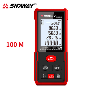 Sndway Laser distance meter tape measure 50M 100M 120M Laser rangefinder Electronic Roulette Digital Rang Finder measuring tape makingtec laser meter laser distance meter 40m60m laser rangefinder laser measure digital measuring tape range finder roulette
