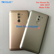 Металлическая Крышка батарейного отсека, задняя крышка корпуса, чехол для Huawei Honor 6X GR5 2017 / Mate 9 lite BLL-L21 BLN L24 L22 L21