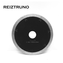 REIZTRUNO 5 inch J-Slot Continuous Diamond Blades, Wet Tile Saw Blades For Grinder -  Circular Cuts Porcelain Ceramic