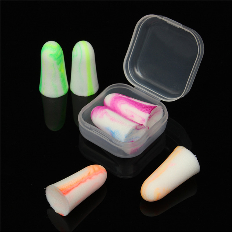 Soft Foam Ear Plugs Travel Sleep Noise Prevention Earplugs Noise Reduction Earplugs Earmuff Workplace Safety Supplies
