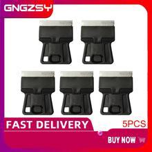 5 cái Mini Tay Dao Cạo Scraper với Lưỡi Thép Carbon Tuổi phim Keo Thủy Tinh Loại Bỏ Dao Điện Thoại Di Động Tablet Màn Hình Sạch Hơn 5E18