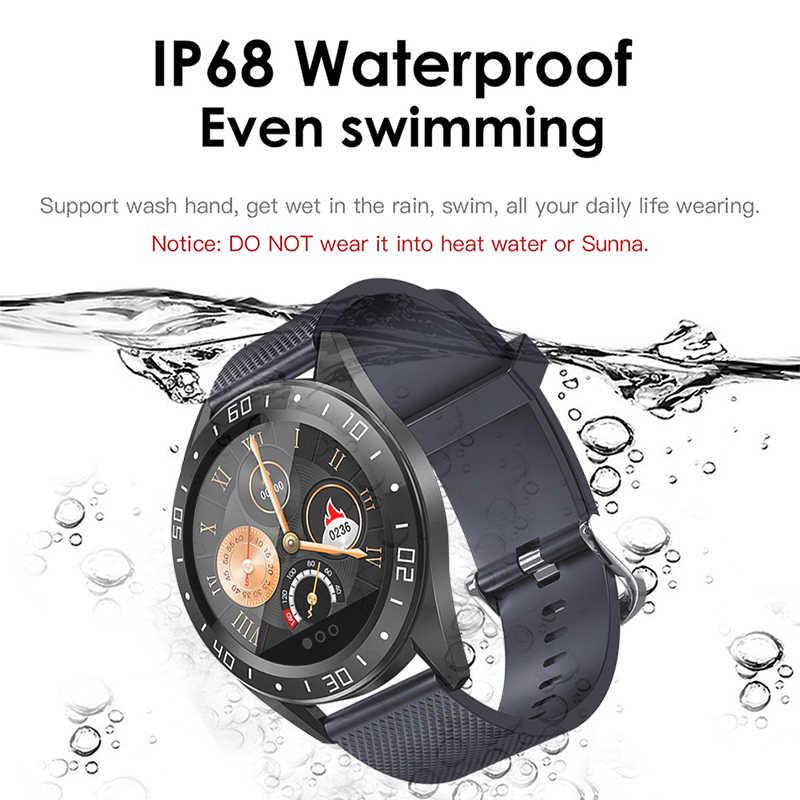 Luik 2019 Nieuwe Smart Watch Mannen Screen Led Hartslagmeter Bloeddruk Sport Horloge Smartwatch Water Reloj Inteligente Mujer