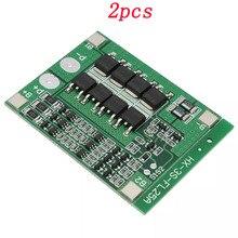 2 stücke 3S 25A Lithium-18650 BMS PCM Lithium-Batterie Ladegerät Schutz Bord 11,1 V 12,6 V Für li-ion lipo Batterie Zelle Pack Modul
