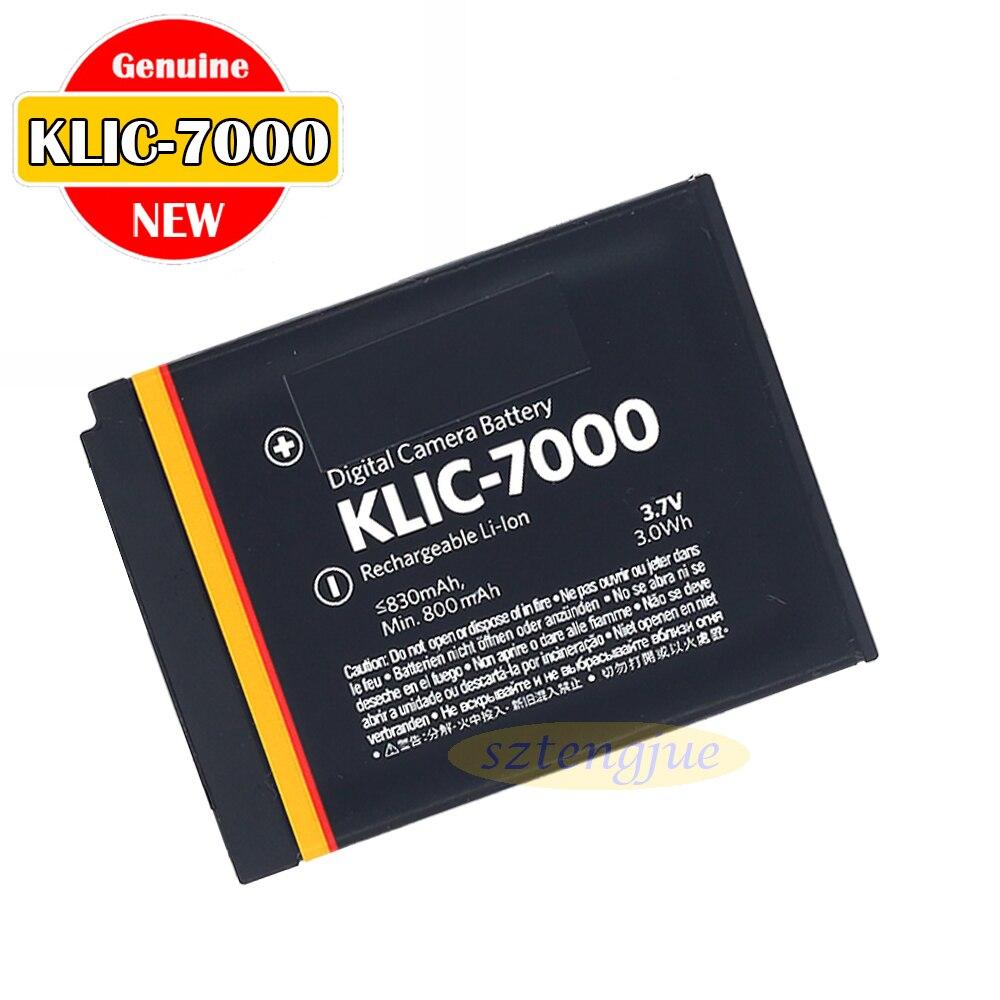 Новый оригинальный KLIC-7000 Батарея для Kodak EasyShare LS753 LS755 LS4330 M590 с переменным фокусным расстоянием