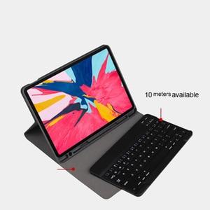 Image 3 - Coque de clavier 10.2 pouces, pour tablette iPad 7, 7e génération, coque 2019 pouces, 9.7, 2017, 2018, Bluetooth sans fil, pour iPad Air 3 2 Pro 10.5