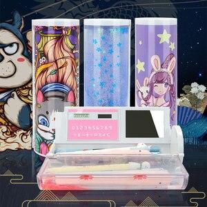 Image 1 - NBX beau porte crayon école Style chinois Culture créative papeterie cadeau chien Newmebox Kawaii fille stylo boîte mystérieux chien