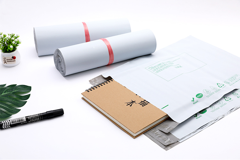 Eco Friendly Biodegradable Poly Mailer Bag White Packaging Office & Statonery » Planet Green Eco-Friendly Shop