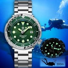STEELDIVE NH35 Mechanical Wristwatch 300m Dive Watch Mechanical Stainless Steel Sapphire Men Automatic Watch diver watch Diving