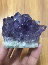 160-180g 100% sonho natural ametista cristal de quartzo cluster espécime cura