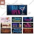 Декоративные Винные знаки Putuo, деревянный спиртовой налет, деревянный налет для бара, настенное украшение для бара, паба, дверной подвесной ...