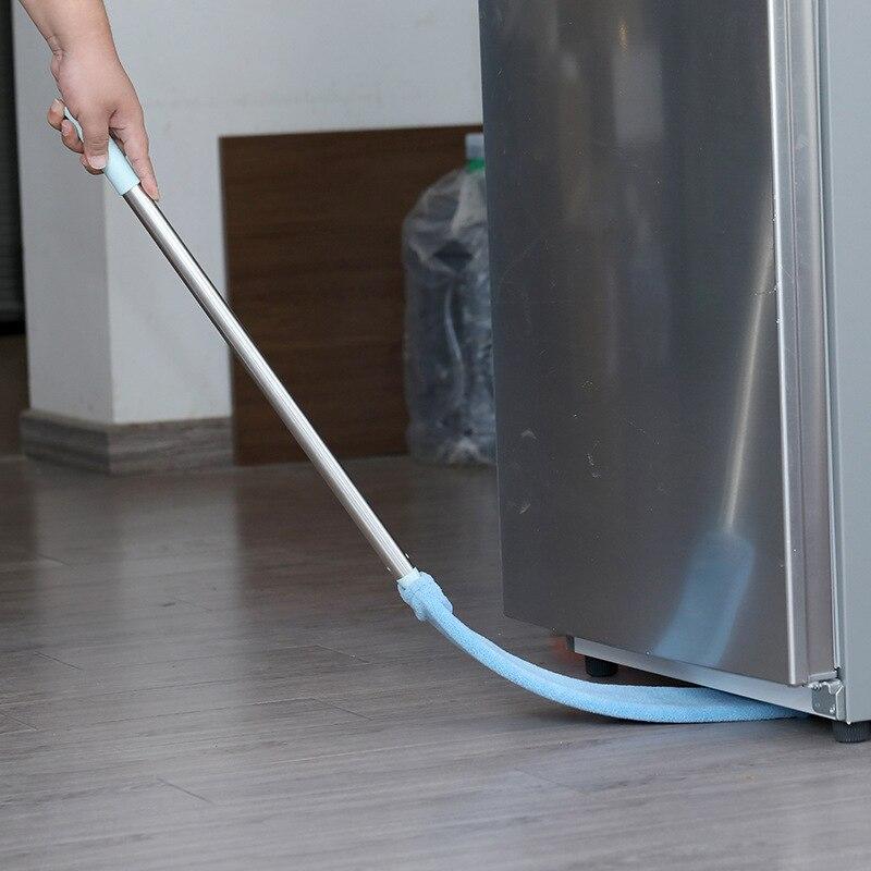 3in1 Corner Cleaning Tool Nook Duster Long Handle Dust Cleaner Floor Brush Easy To Clean Sweeper Car Wash Mop Broom Microfiber(China)