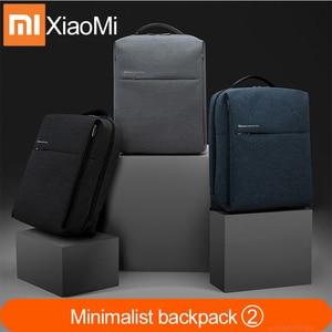 Original XiaomI Mi Backpack 2 Urban Life Style Shoulders Bag Rucksack Daypack School Bag Duffel Bag Fits 14inch Laptop portable