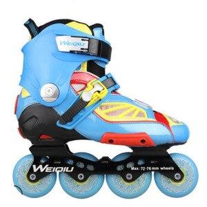 Image 3 - Slide Raden Professionele Inline Skates voor Volwassen Sliding Schaatsen Patines met Duurzaam PU Wielen Voor SEBA Hoge Licht HL HV