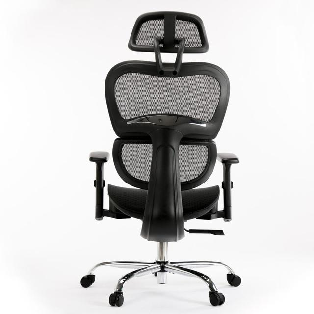 SMUGDESK Ergonomics Mesh Computer office Chair High Back Desk Chair with Adjustable Headrest and Armrest 2
