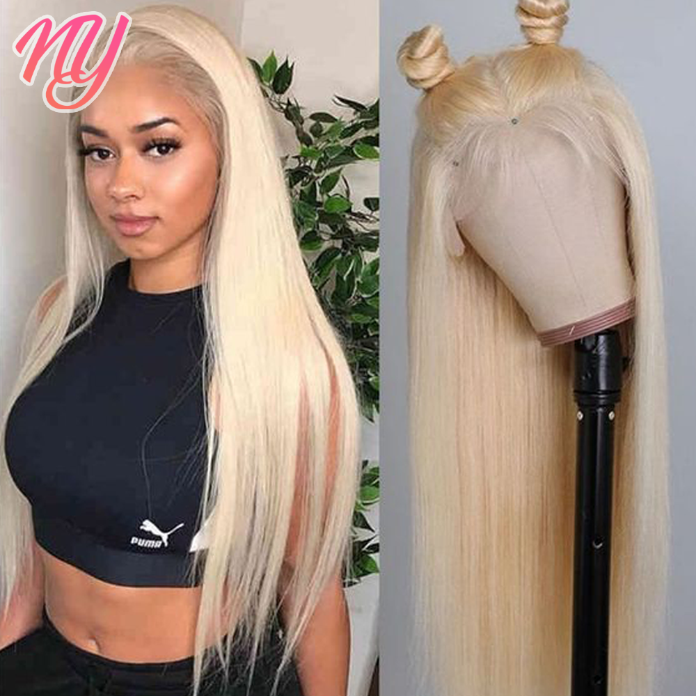 613 Lace Frontal Wig 13X6 HD Transparent Lace Front Human Hair Wigs For Women Brazilian Straight Honey Blonde Lace Front Wig