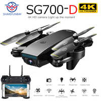 Drone SG700D 4K drone HD double caméra WiFi transmission fpv débit optique taille stable quadrirotor Rc hélicoptère drone caméra dron