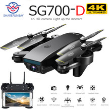 Drone SG700D 4K Drone Hd Dual Camera Wifi Transmissie Fpv Optische Stroom Stabiel Hoogte Quadcopter Rc Helicopter Drone Camera dron(China)