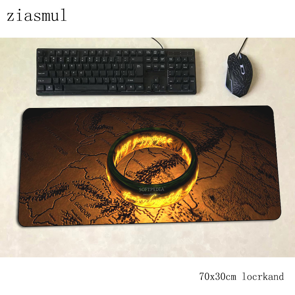 Lord Of The Ring Mouse Pad Kawaii Computer Mat 700x300x3mm Gaming Mousepad Large 3d Padmouse Keyboard Games Pc Gamer Desk