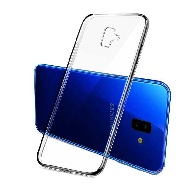 Ultra Thin Clear Transparent Soft TPU Case For Samsung Galaxy J6 J7 J5 J2 Prime J7 Prime 2 2018 Phone Case Cover image