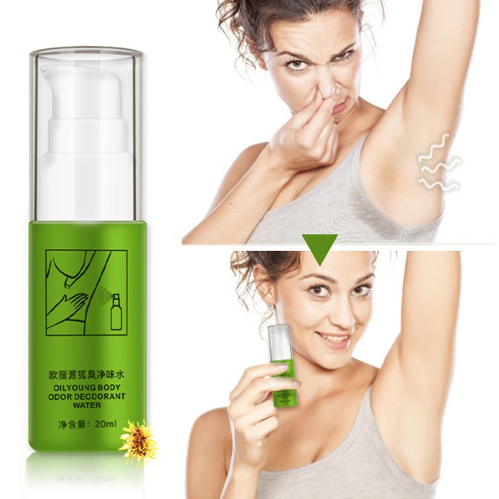 Removing Body Odor Natural Remove Armpit Foot Bad Body Odor Water Deodorizer Eliminate Antiperspirants Bodys Spray