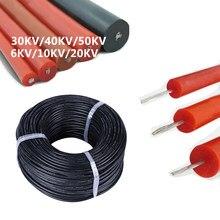 Ocynowany drut miedziany UL3239 silikonowe wysokiego napięcia drutu kabel 6KV 10KV 20KV 28 26 24 22awg 20awg 18awg 16awg o wysokiej temperaturze 150 °