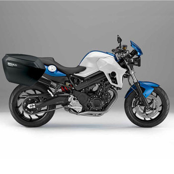 for BMW F800R F 800 R 2013-2017 SHAD SH23 Side Boxs+Rack Set Motorcycle Luggage Case Saddle Bags Brasket Carrier System