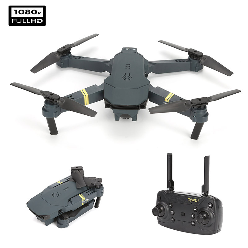RC Drone WIFI FPV Quadcopter With 4K/1080P HD Wide Angle Camera Foldable Video RC Quadcopter Drone X Pro Dron For Kids Toys Gift