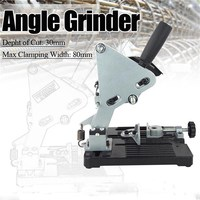 MPT Angle Grinder Holder Woodworking Tool DIY Cutting Stand Grinder Support Dremel Power Tools Accessories