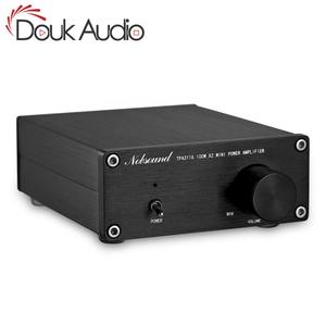 Image 1 - مكبر صوت دوك 200 وات صغير HiFi TPA3116D2 مضخم طاقة رقمي ثنائي القناة ستيريو موسيقي صوتي منزلي مكبر صوت