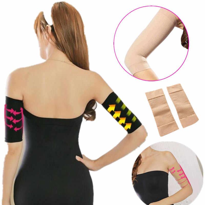 1pair Arm Sleeves Weight Loss Thin Legs for Women Shaper Thin Arm ...